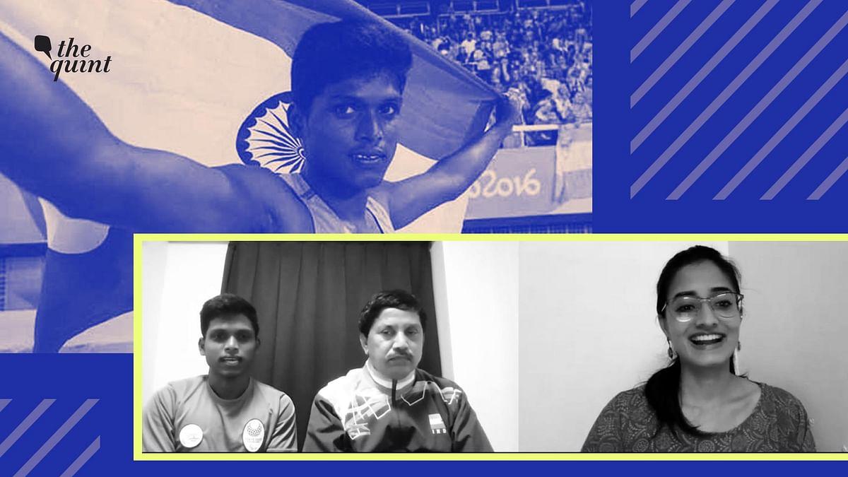 Even Rain Couldn't Deter Silver Medalist Paralympic Champ Mariyappan