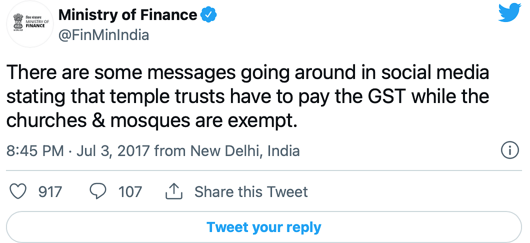 """<div class=""""paragraphs""""><p>Finance Ministry had clarified in 2017.</p></div>"""