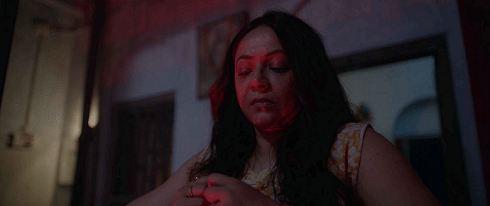 """<div class=""""paragraphs""""><p>Sreelekha Mitra in a still from <em>Once Upon a Time in Calcutta</em>.</p></div>"""