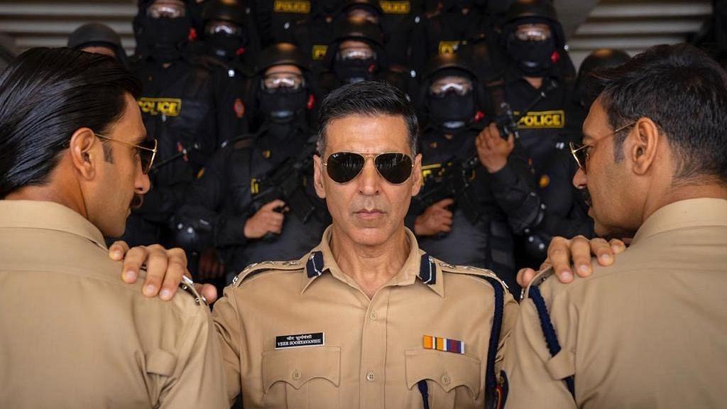 "<div class=""paragraphs""><p>Akshay Kumar-starrer&nbsp;<em>Sooryavanshi&nbsp;</em>features extended cameos from Ranveer Singh and Ajay Devgn.</p></div>"