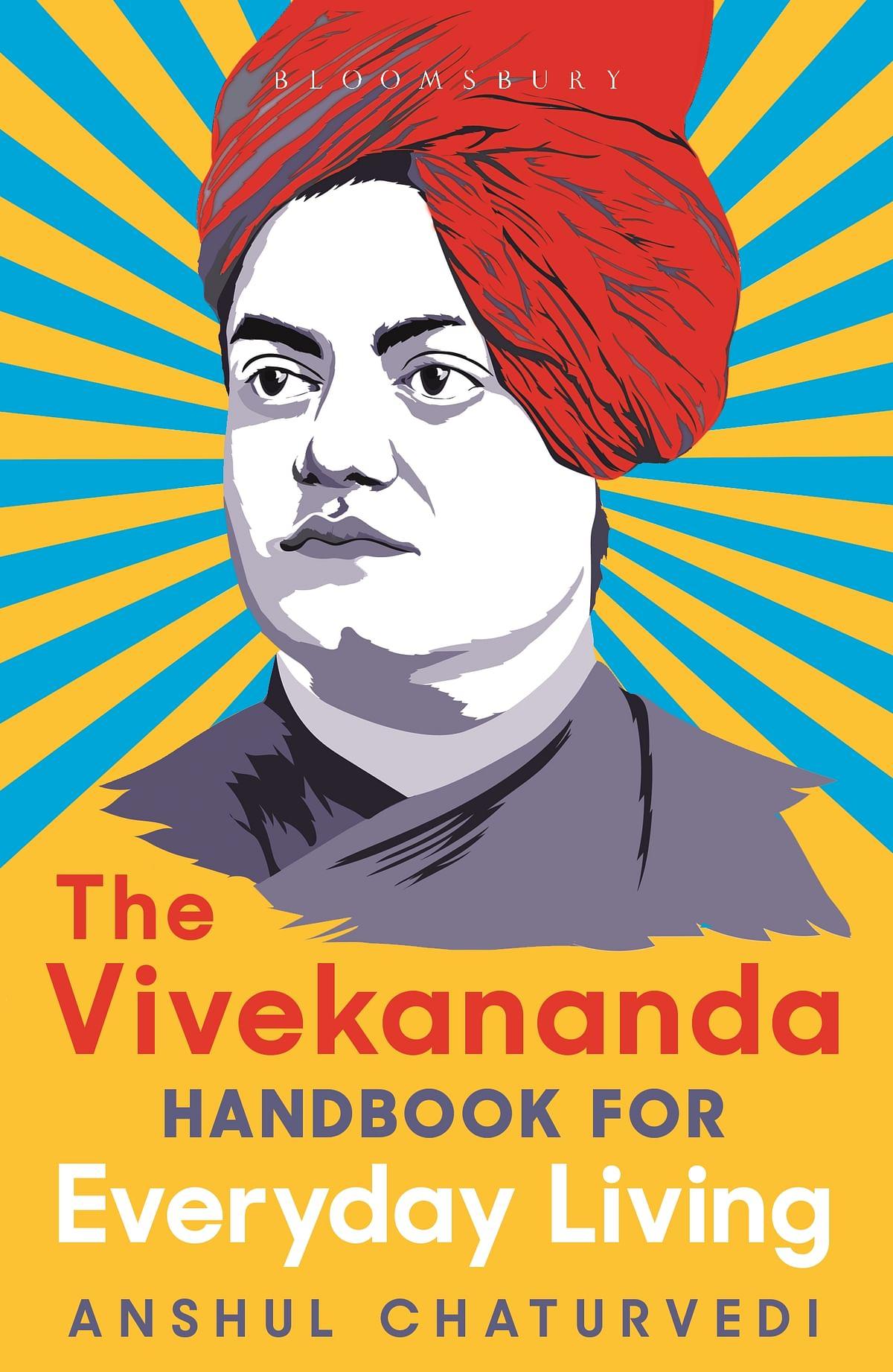 """<div class=""""paragraphs""""><p>Cover of&nbsp;<em>The Vivekananda Handbook for Everyday Living.</em></p></div>"""