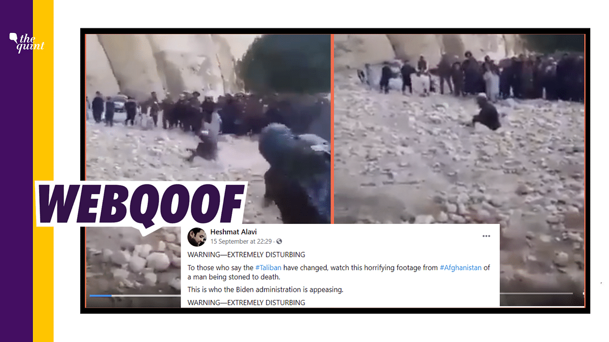 Old Clip Shared as Recent Video of Taliban Stoning Man to Death