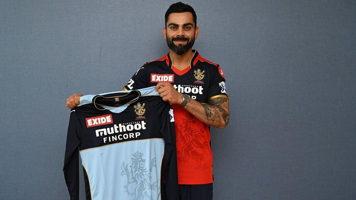IPL 2021: Virat Kohli & Co to Don Special Blue Jersey Against KKR