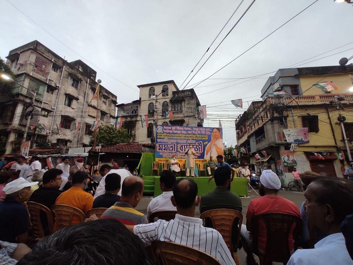 "<div class=""paragraphs""><p>A TMC campaign meet in Bhabanipur.</p></div>"