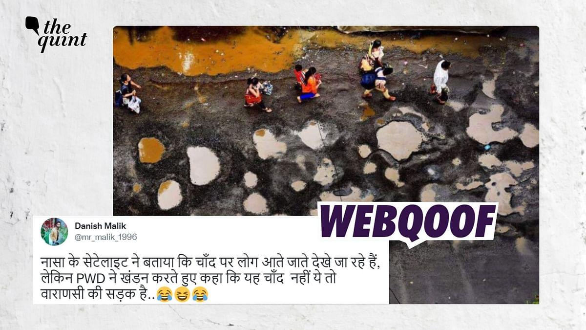 Old Photo of Mumbai Road Filled With Potholes Shared as Varanasi
