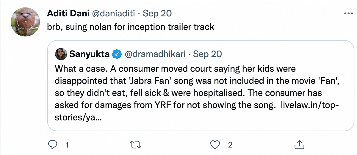 Woman Who Sued YRF for Excluding Jabra Fan Song from 'Fan' Gets Compensation
