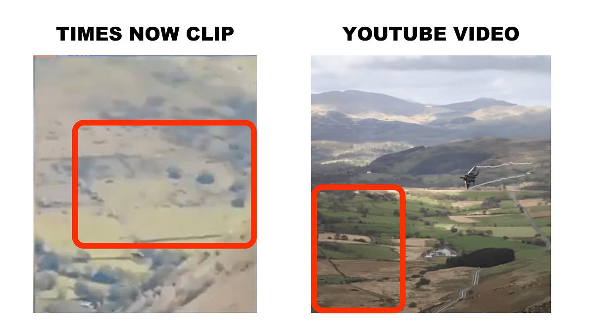 "<div class=""paragraphs""><p>The flat terrain matches in both videos.</p></div>"