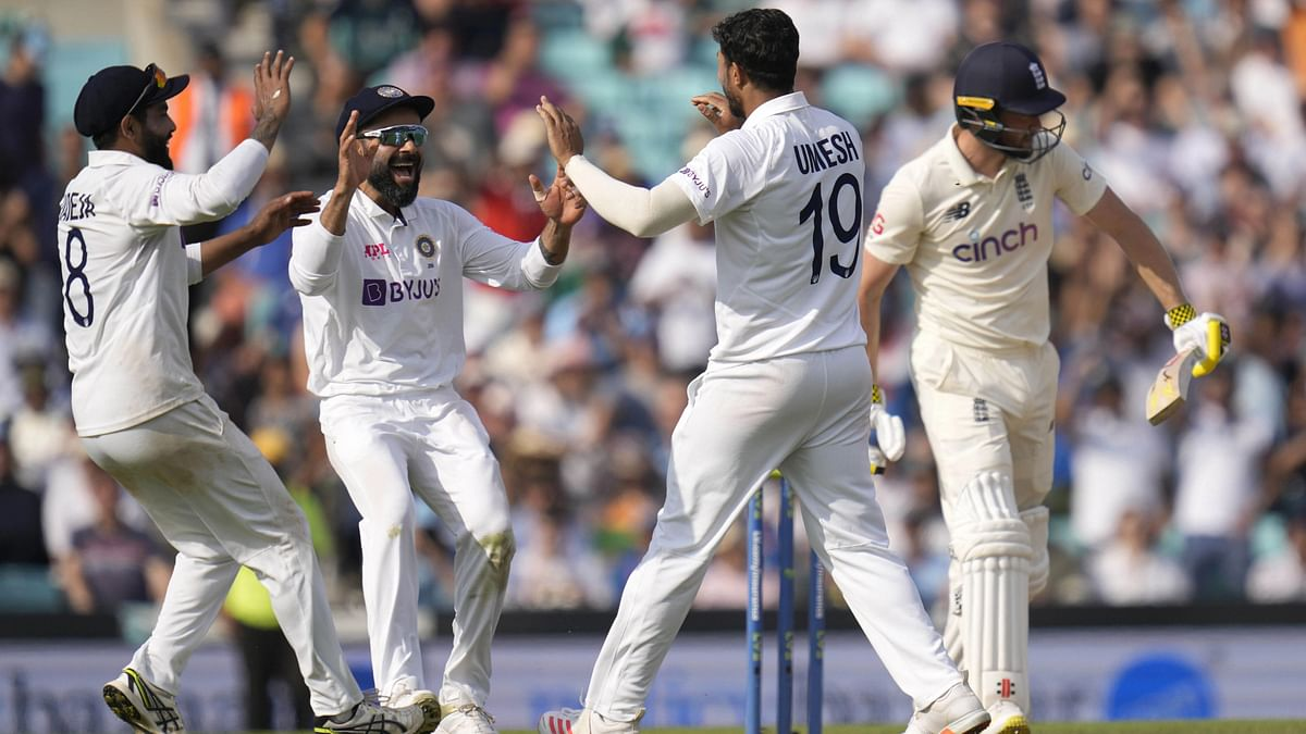 India Bowlers Turn Up the Heat as England Surrender Meekly at The Oval