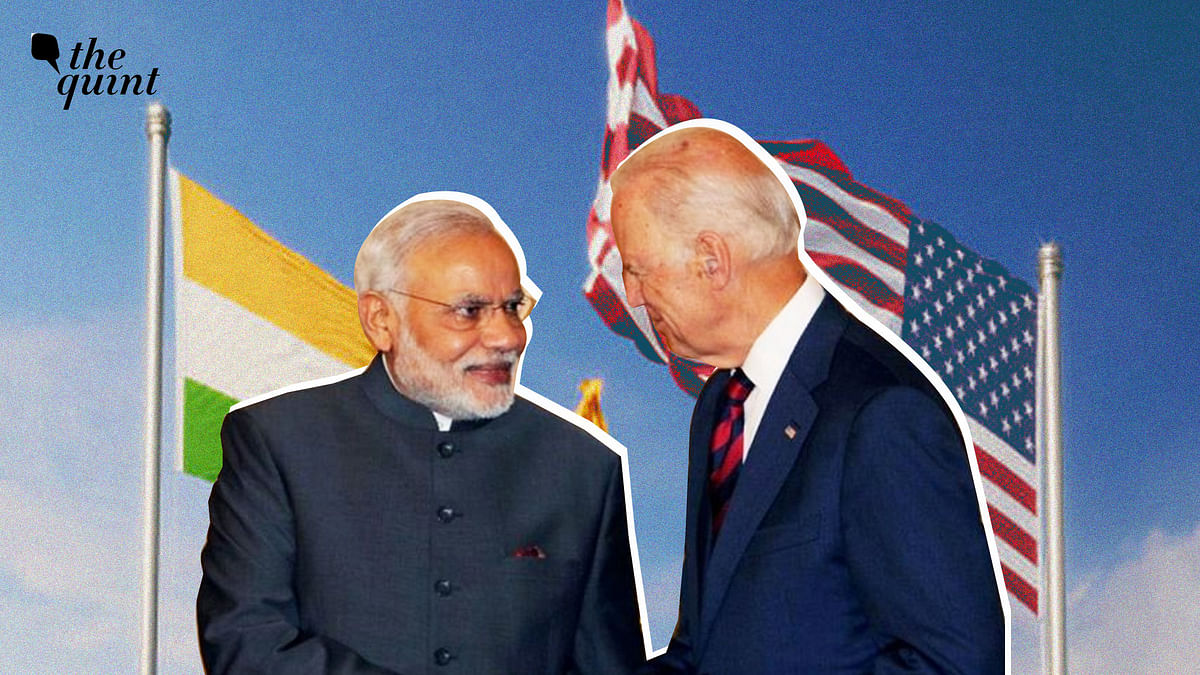 """<div class=""""paragraphs""""><p>The bilateral talks between US and India in 2021 Quad Summit.&nbsp;</p></div>"""
