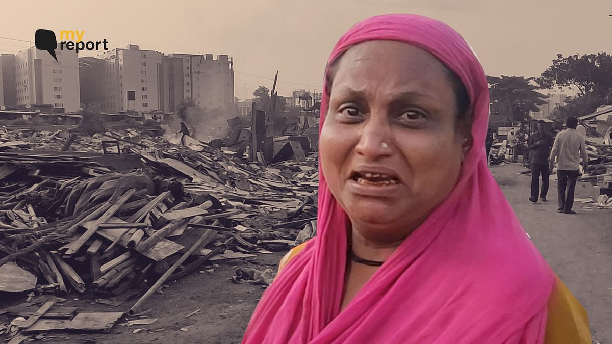 Railways Demolishes Surat's Slums; Flyovers, Plastic Covers Only Shelters Now