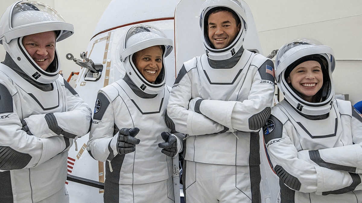 Launching 4 Civilians into Orbit, SpaceX  Brings Space Tourism Closer to Reality
