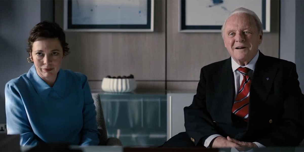 """<div class=""""paragraphs""""><p>Anthony Hopkins and Olivia Colman in a still from <em>The Father</em>.</p></div>"""