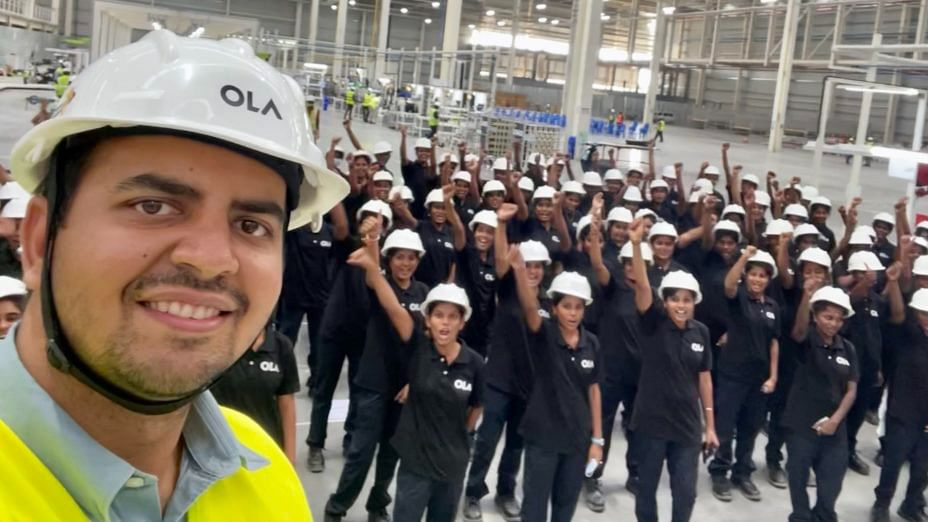 """<div class=""""paragraphs""""><p>Ola Electric Factory. Image used for representational purposes.</p></div>"""