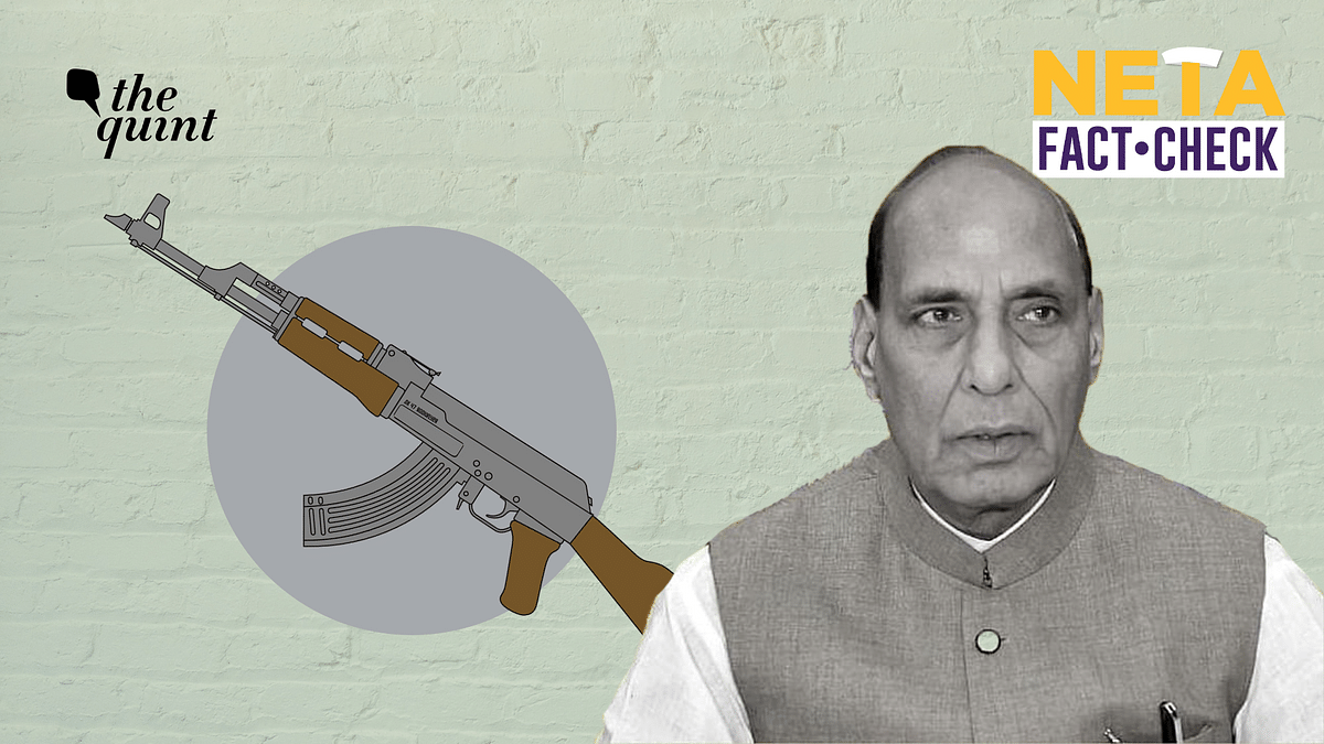 """<div class=""""paragraphs""""><p>Defence Minister Rajnath Singh claimed that there were no major terror incidents in India apart from Jammu and Kashmir. Here's a fact-check.</p></div>"""