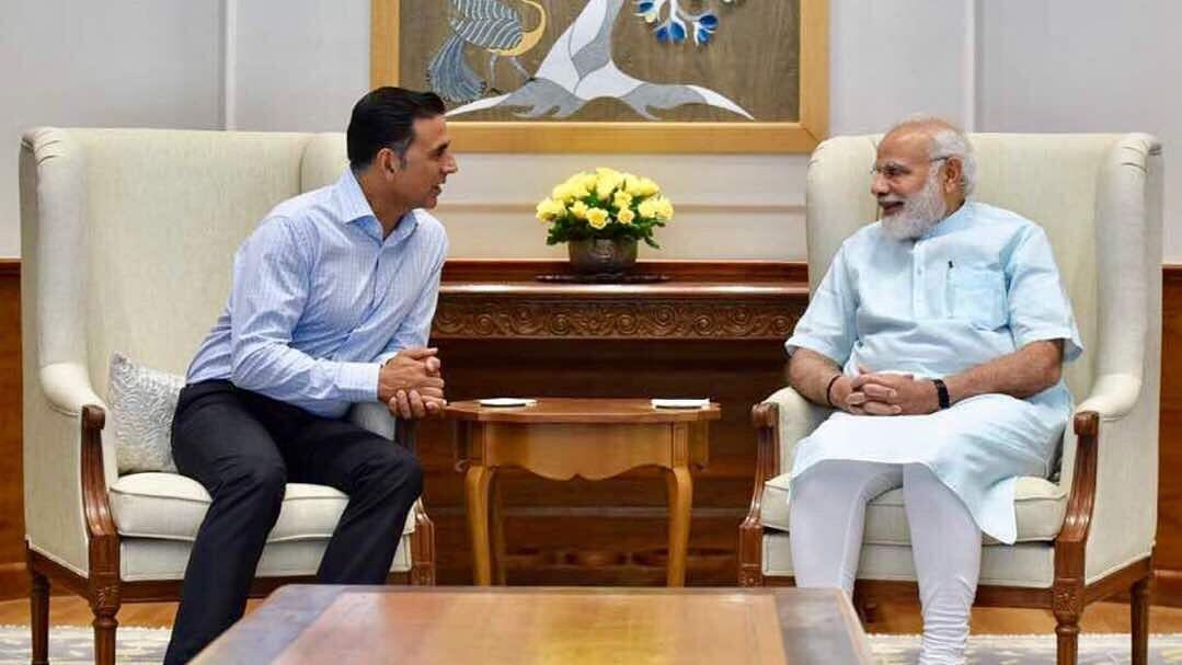"<div class=""paragraphs""><p>Akshay Kumar with Prime Minister Narendra Modi.</p></div>"