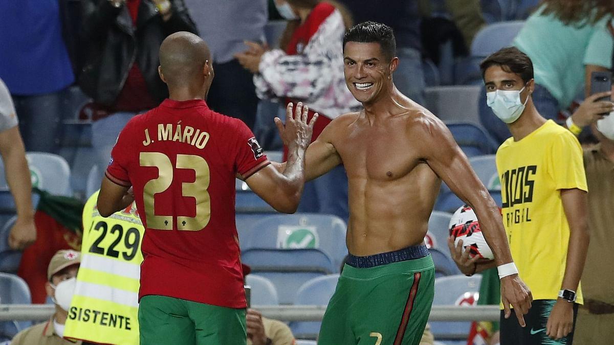 Watch: Ronaldo Slaps Ireland Player During FIFA World Cup Qualifier