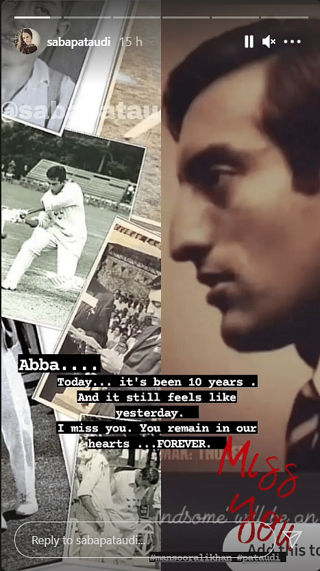 Never Dead to Us: Saba, Soha Ali Khan Pay Tribute to Father Tiger Pataudi