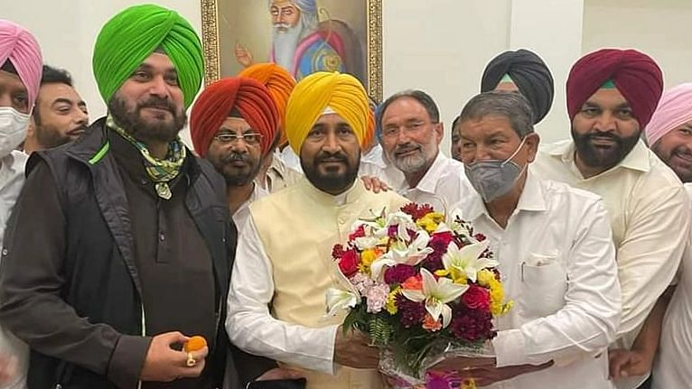 """<div class=""""paragraphs""""><p>Navjot Singh Sidhu and CM Charanjit Channi. Image used for representational purposes.</p></div>"""
