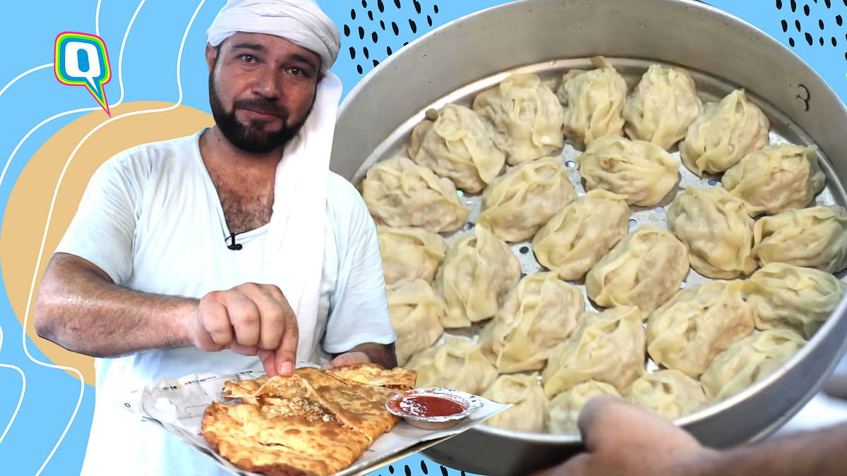Afghani Twist to Your Regular Paratha and Momos