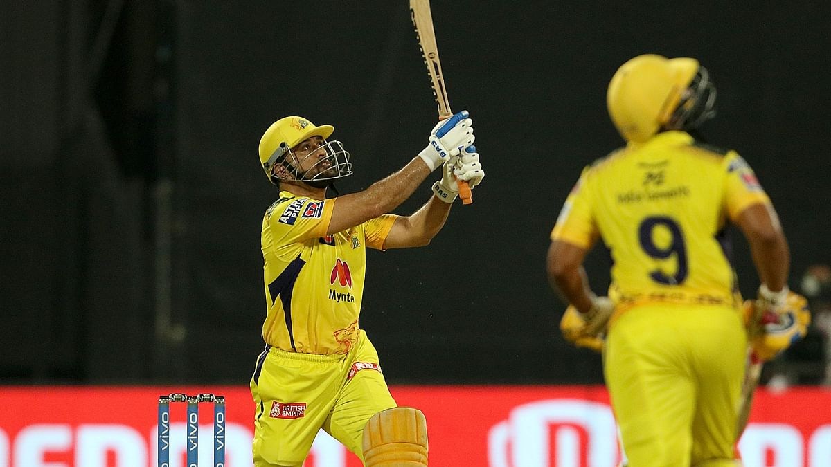Dhoni Smashes a Big Six to Finish Off SRH Match, CSK Qualify For Playoffs
