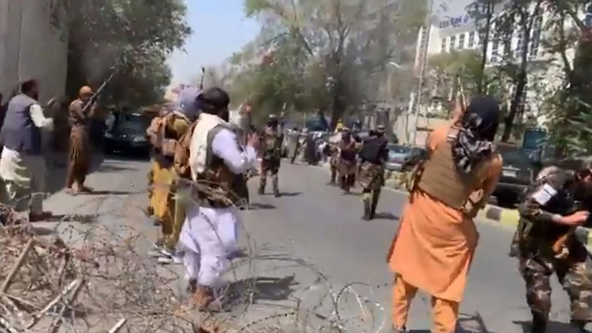 Taliban Fires Shots in Air Amid Protest in Kabul Against Pak Involvement