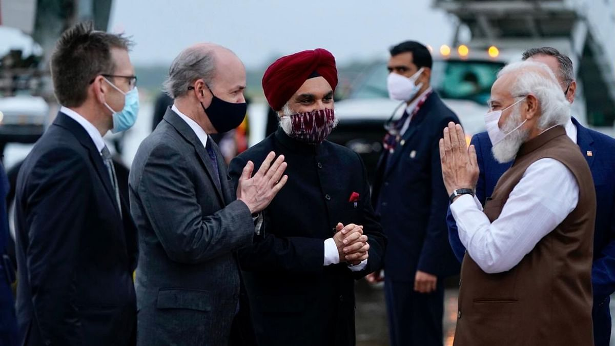 US Visit | PM Modi Reaches Washington DC Ahead of Quad Summit, UNGA Address