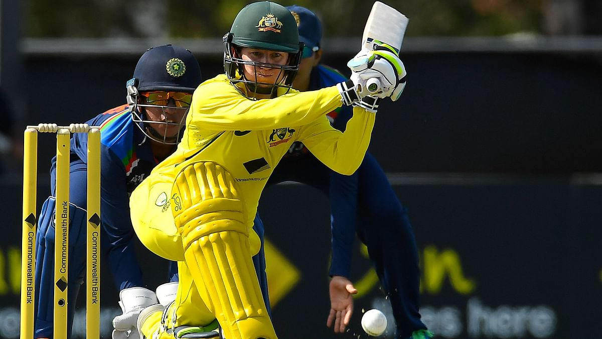 """<div class=""""paragraphs""""><p>Australia cruised to a 9 wicket win against India with Rachael Haynes scoring 93*&nbsp;&nbsp;</p></div>"""