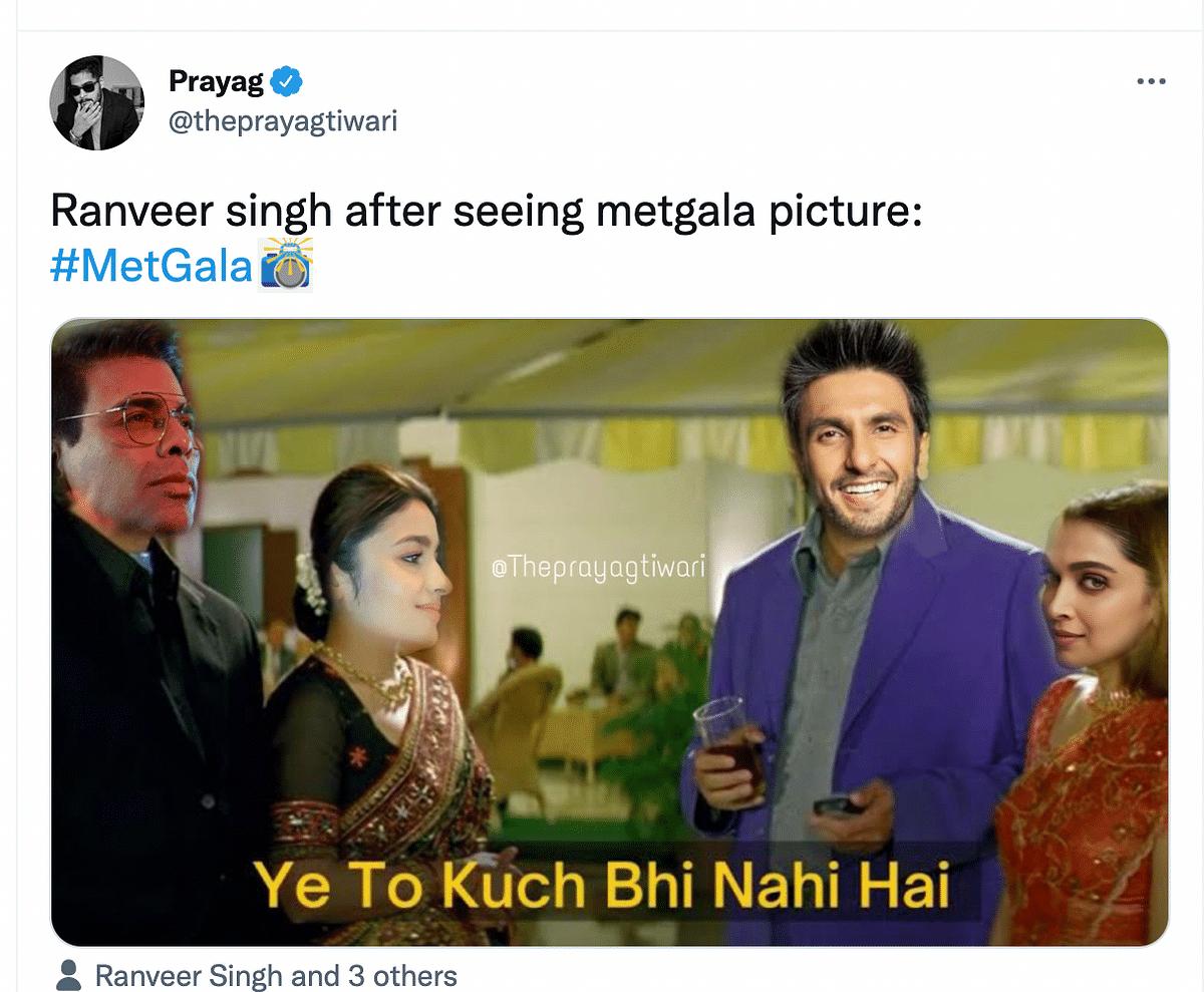 Ranveer Singh Memes Flood The Internet, Courtesy Met Gala 2021