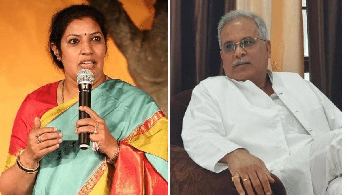 'Spit' Row: BJP Leader Takes Jibe at Chhattisgarh CM Baghel, He Hits Back