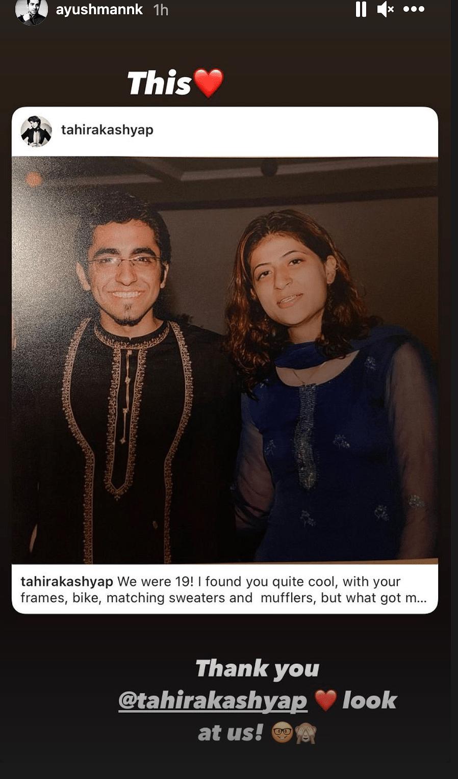 On Ayushmann Khurrana's B'day Tahira Kashyap Speaks About Their Love Story