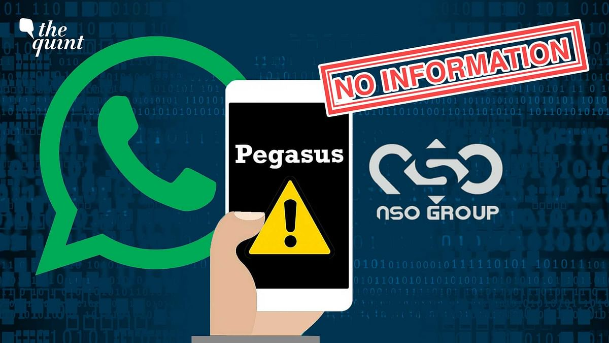 """<div class=""""paragraphs""""><p>The Modi government has no information about its 2019 probe of Pegasus hacking.</p></div>"""
