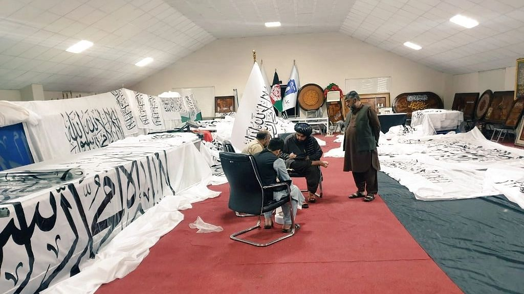 Taliban To Announce New Govt; Preps On for Ceremony at Presidential Palace