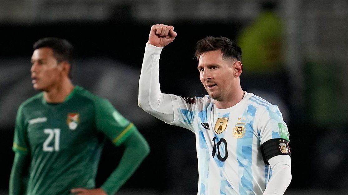 Watch: Lionel Messi Scores Hat-trick vs Bolivia; Overtakes Pele