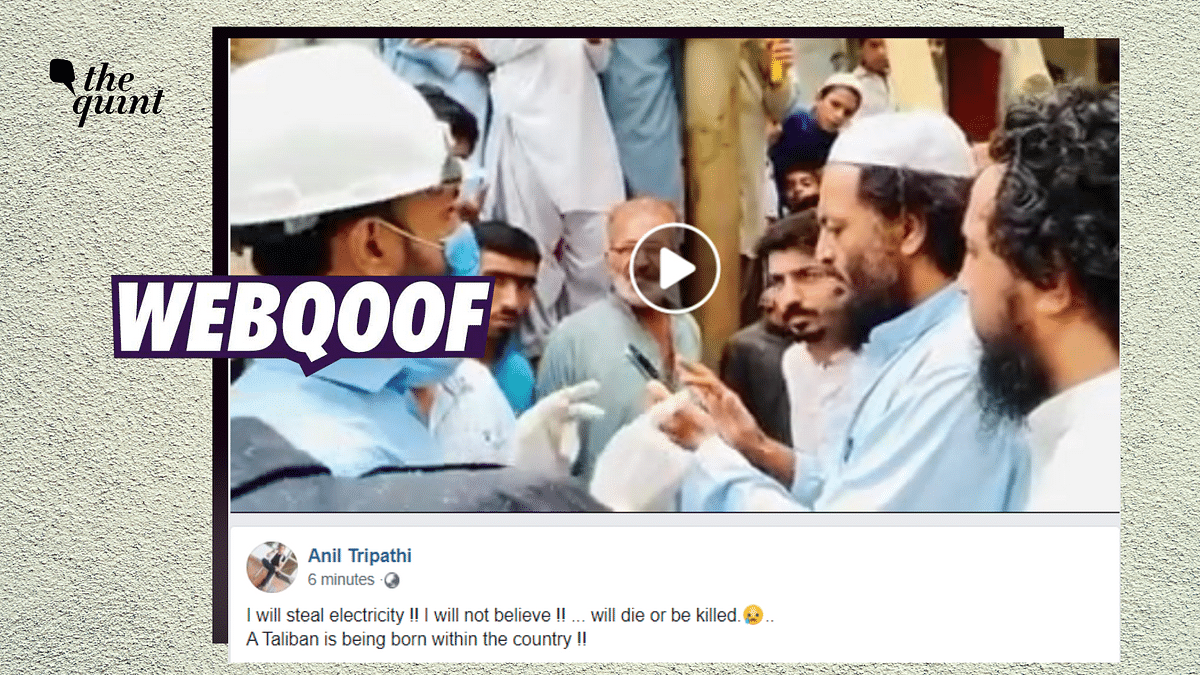 Clip of Man Stealing Electricity in Pak Shared With Communal Undertone in India
