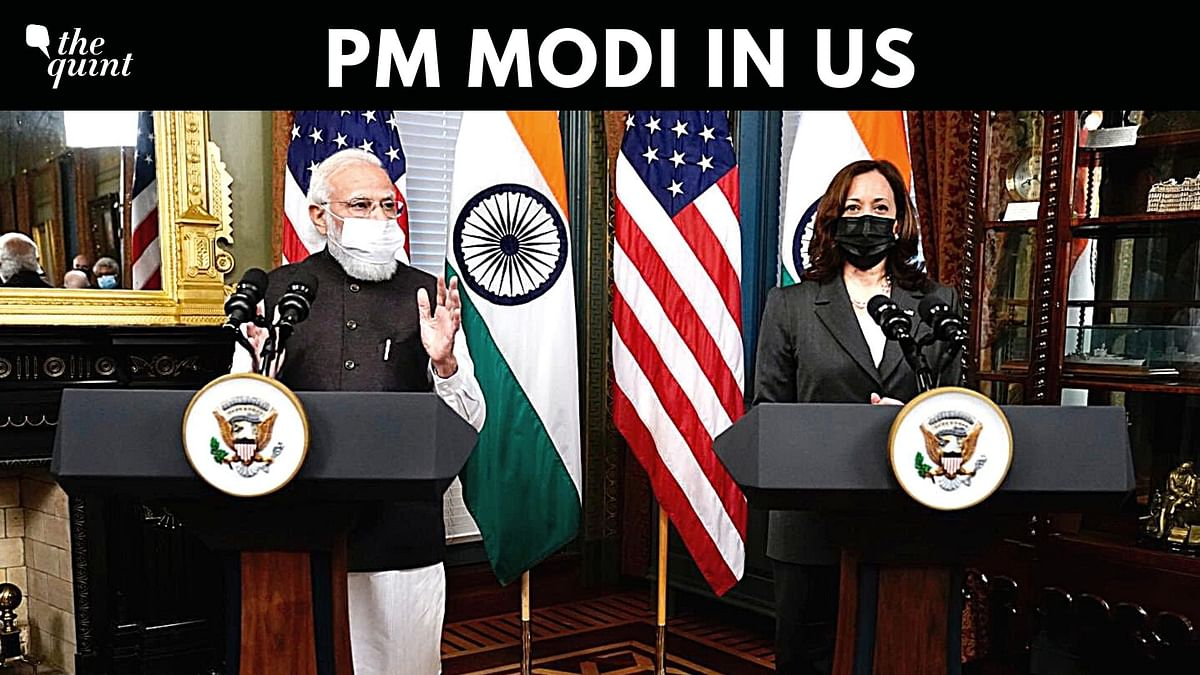 'India, US Share Values, Interests': Modi, Kamala Harris Issue Joint Statement
