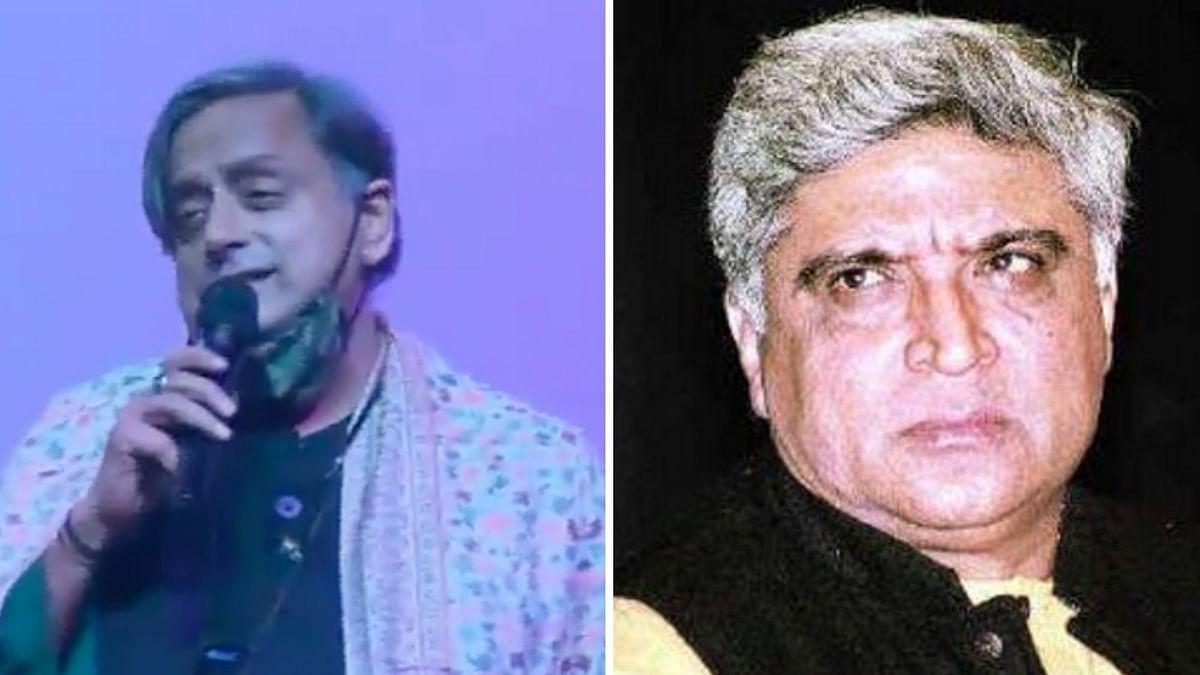 Shashi Tharoor Sings 'Ek Ajnabee Haseena Se'; Javed Akhtar Reacts
