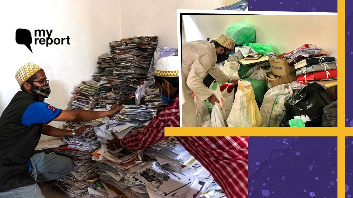 """<div class=""""paragraphs""""><p>Volunteers from the Dawoodi Bohra community collected paper waste from housing societies, offices and schools</p></div>"""