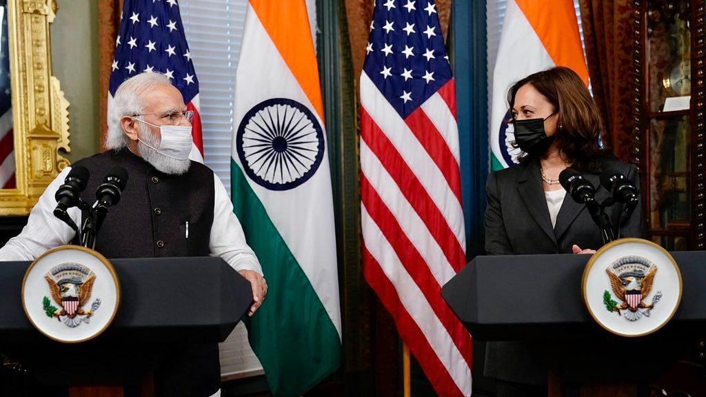 US VP Harris Acknowledged Pak's Role in Terrorism at Meet With PM Modi: Shringla