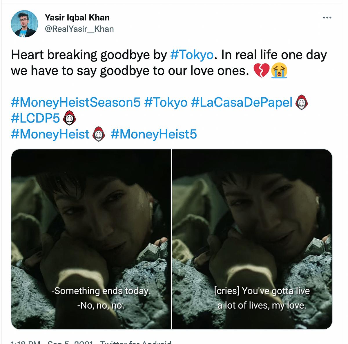 Money Heist Season 5 Vol 1: Fans Bid Emotional Adieu to Tokyo