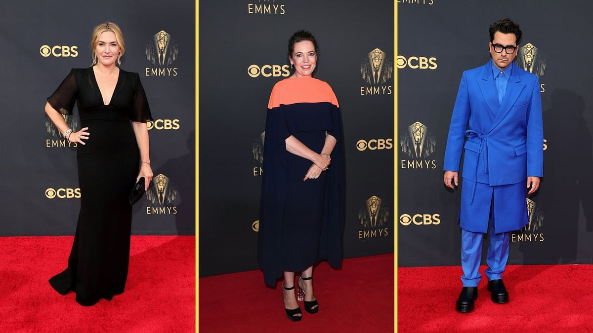 Dan Levy to Kate Winslet: Celebs at Their Stylish Best at Emmys Red Carpet