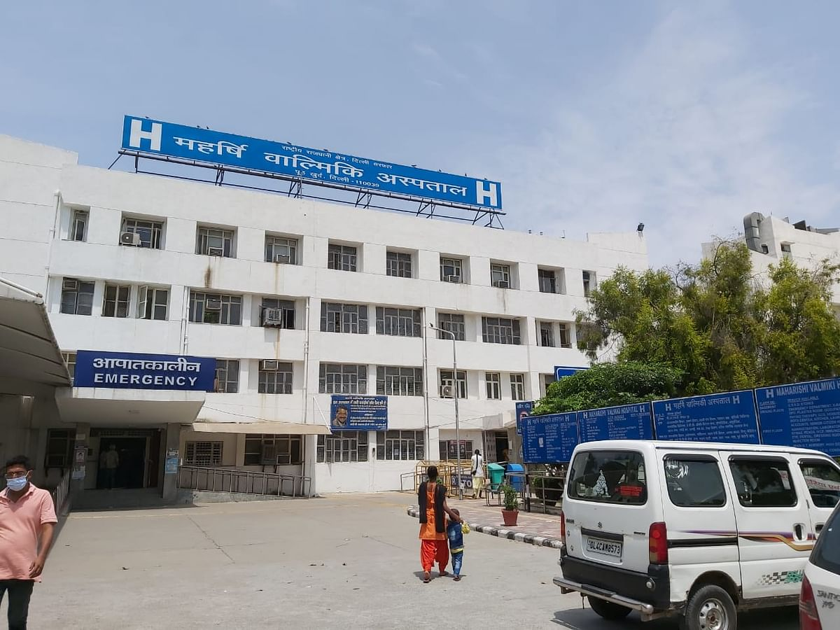 "<div class=""paragraphs""><p>Maharishi Balmiki hospital.&nbsp;</p></div>"
