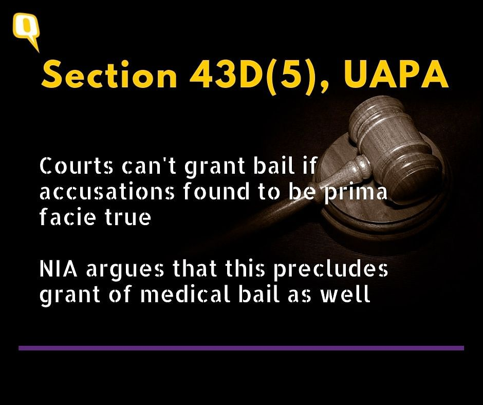 When Can an Accused in Jail Get Medical Bail? Is it Possible in UAPA Cases?