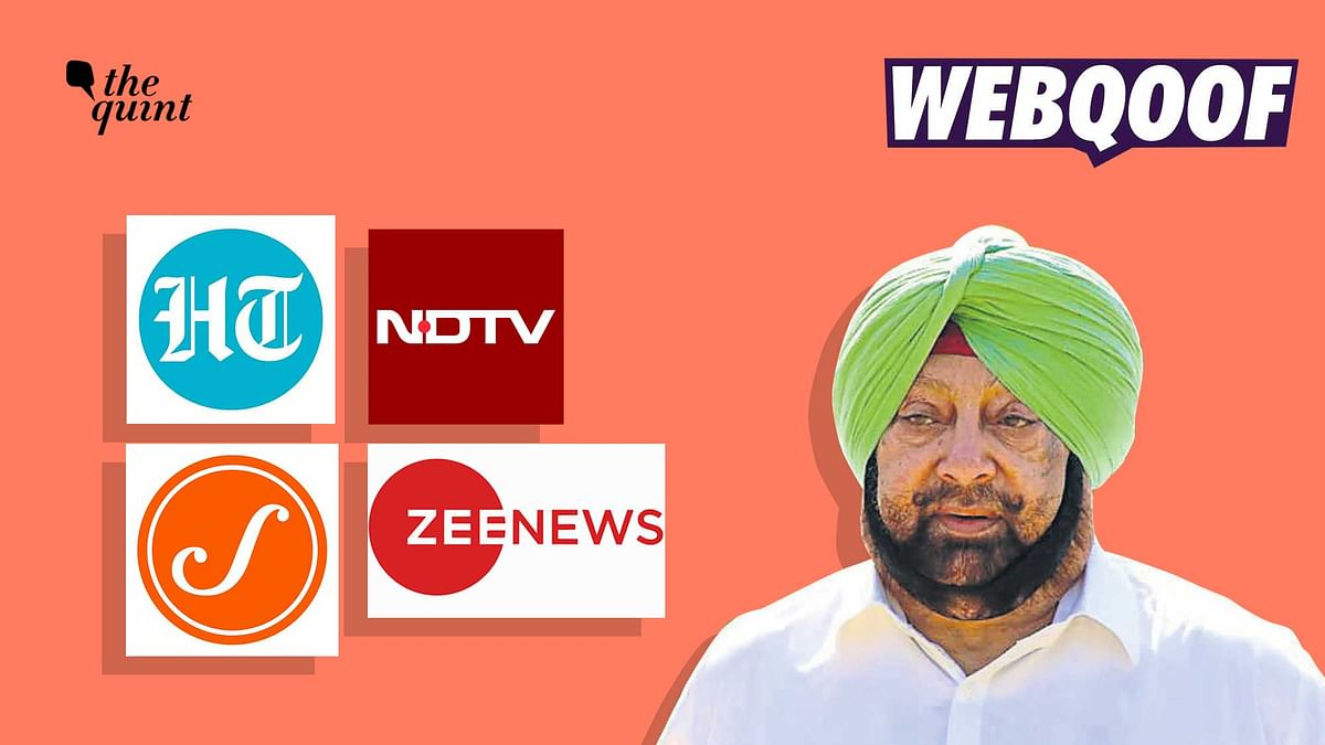 """<div class=""""paragraphs""""><p>Media outlets misreported that Captain Amarinder Singh 'dropped Congress' from his Twitter bio after stating that he will quit the party.</p></div>"""