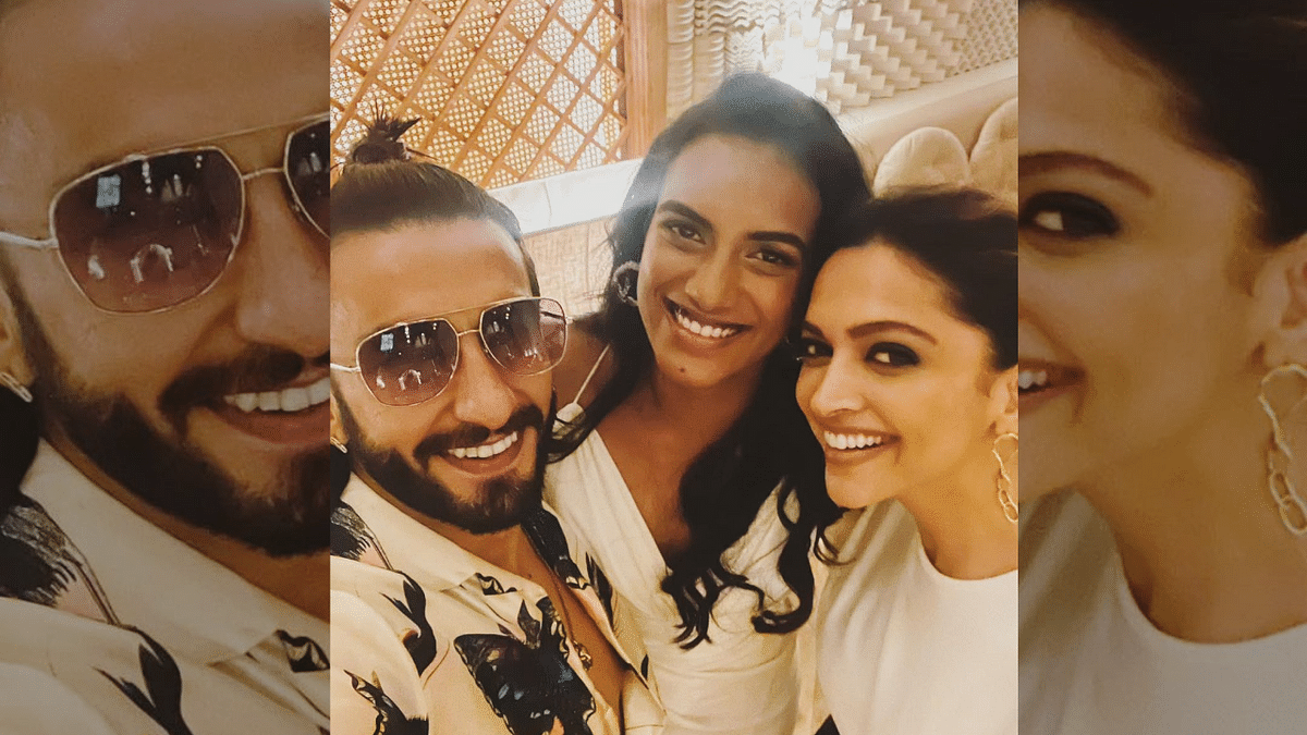 Deepika Padukone and Ranveer Singh Have a 'Smashing Time' With PV Sindhu