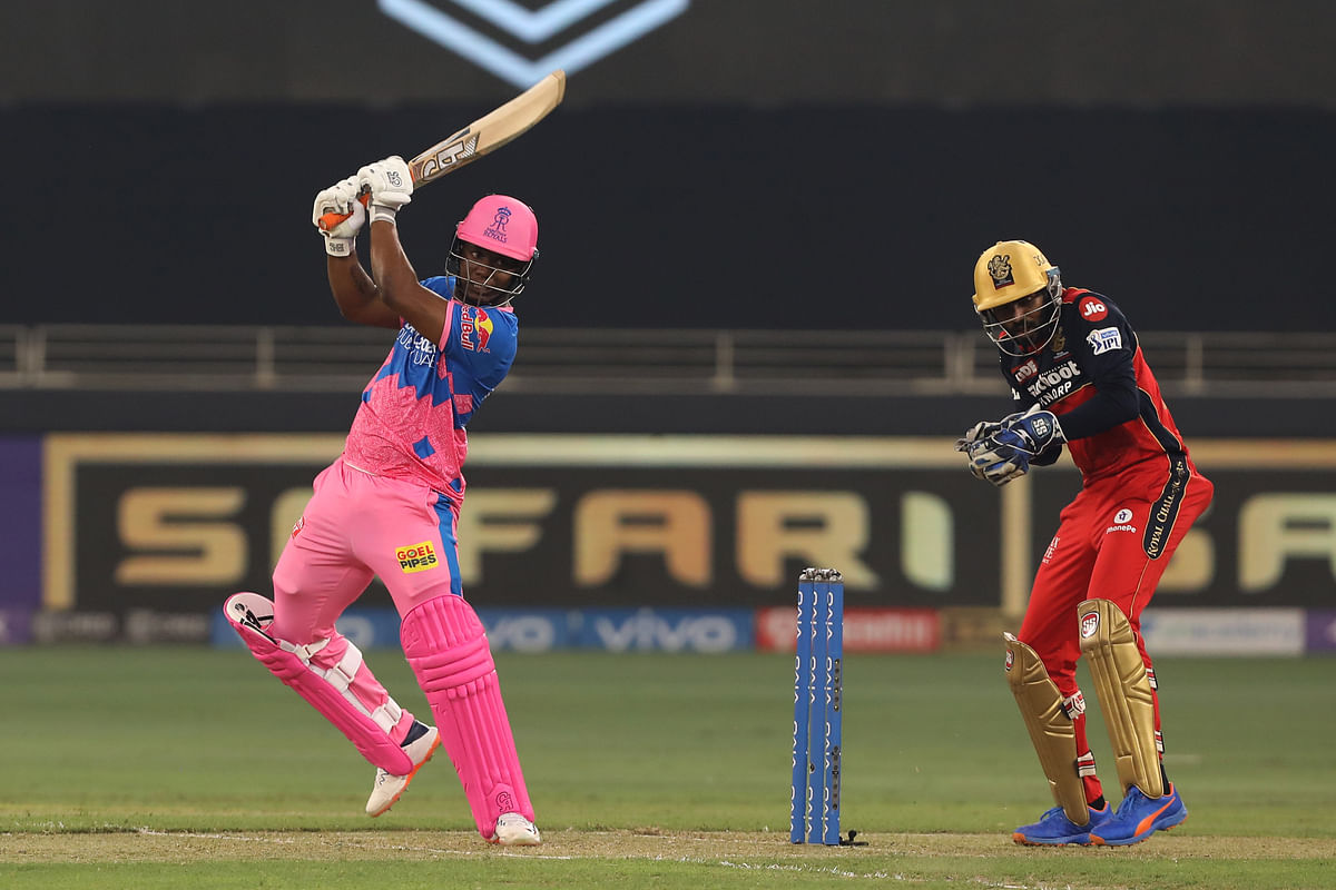 """<div class=""""paragraphs""""><p>Evin Lewis of Rajasthan Royals play a shot.</p></div>"""