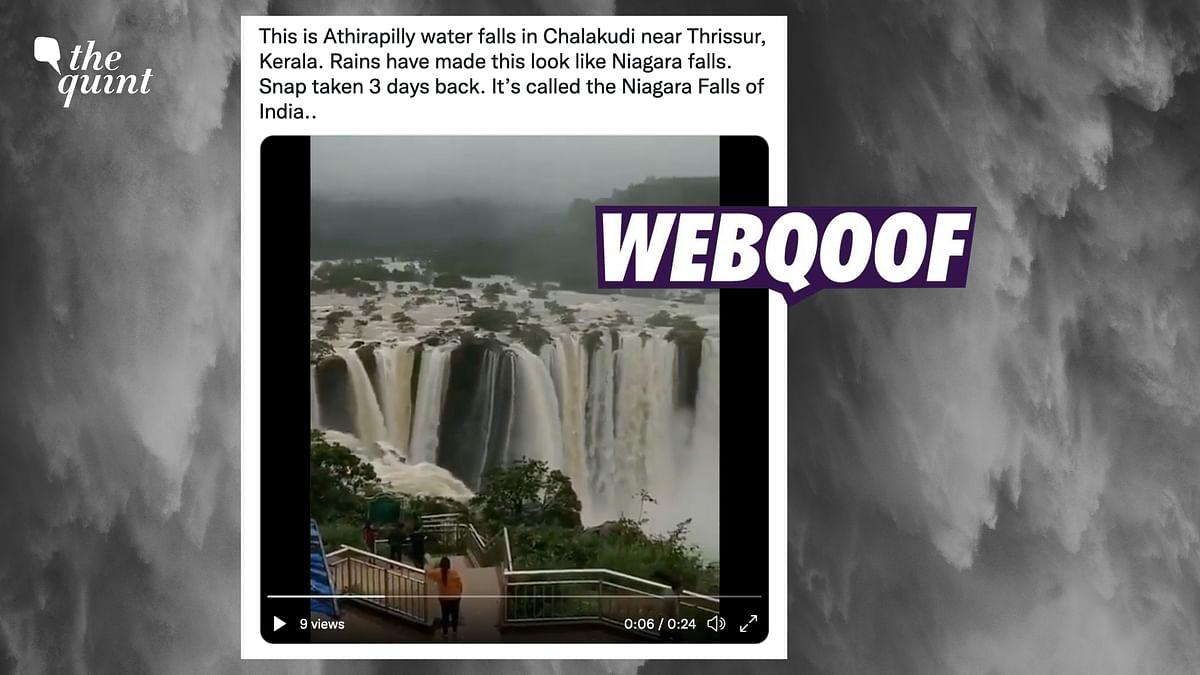 Old Video of Karnataka's Jog Falls Circulated as Athirappally Falls in Kerala