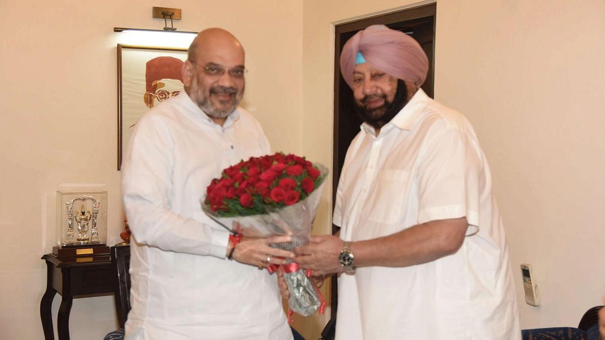 Ex-Punjab CM Amarinder Singh a 'Patriot': BJP Welcomes Call For Alliance