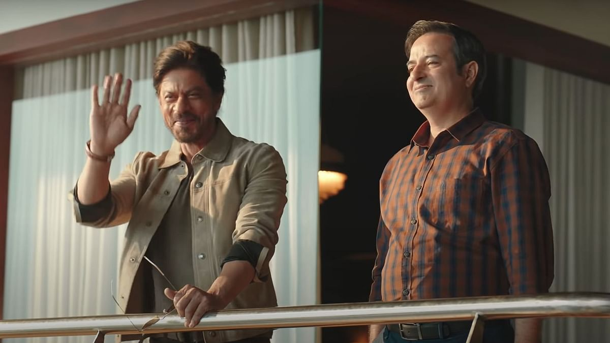 "<div class=""paragraphs""><p>Shah Rukh Khan in a promotional campaign for Disney+ Hotstar.&nbsp;</p></div>"