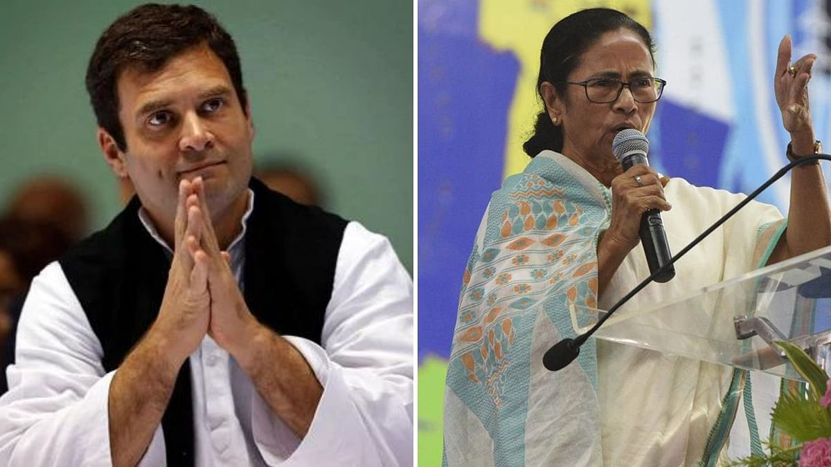 """<div class=""""paragraphs""""><p><em>Jago Bangla</em>, TMC's Bengali mouthpiece published a cover story titled 'Rahul Gandhi failed, Mamata is the alternate face'.</p></div>"""