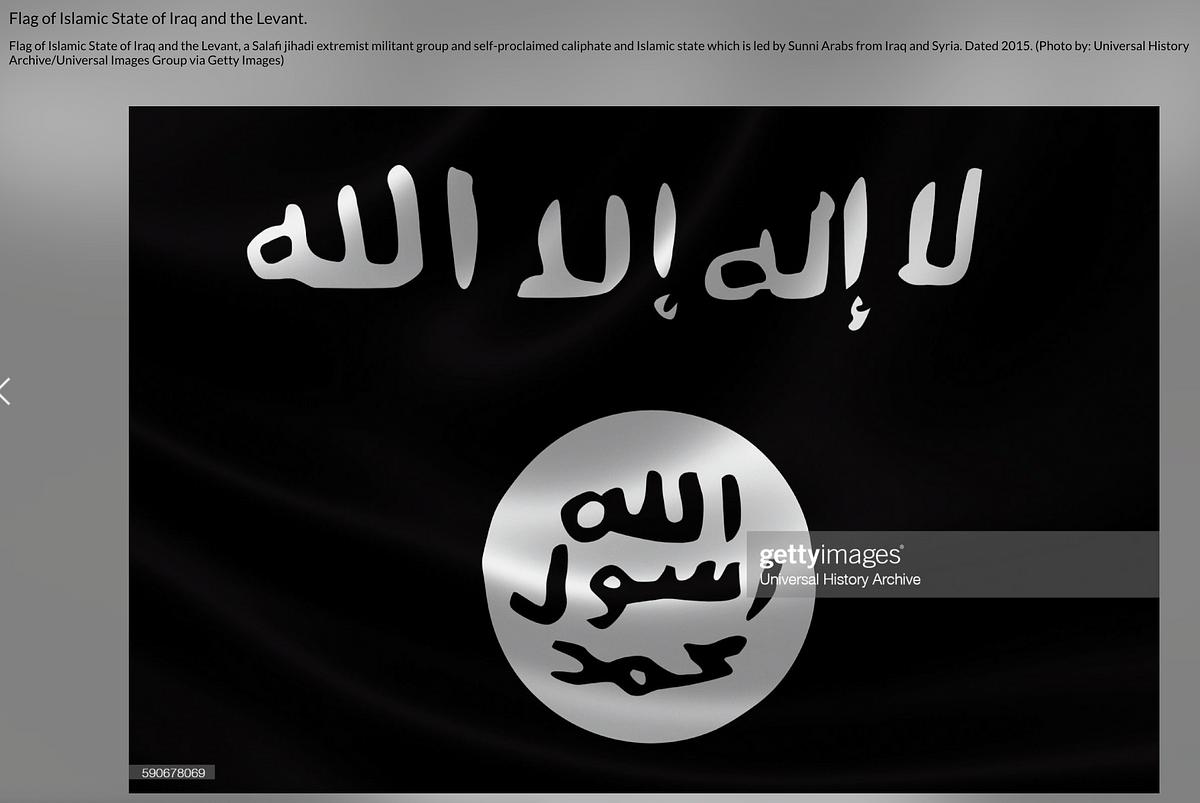 "<div class=""paragraphs""><p>The ISIS flag.</p></div>"